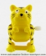 Mechanical automaton, jumping animal : cat - Item # for this mechanical automaton made of resin : AAS-02