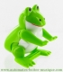 Mechanical automaton, jumping animal : frog - Item # for this mechanical automaton made of resin : AAS-03