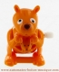 Mechanical automaton, jumping animal : kangaroo - Item # for this mechanical automaton made of resin : AAS-04