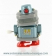 Automaton, mechanical walking robot made of resin with a rewind key - Item# for this mechanical robot : ROBOT-02