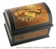 Musical ring box with traditional 18 note musical mechanism - Item # for this traditional musical ring box : 8565