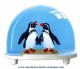 Traditional non-musical snow globe made of plastic without any 18 note musical mechanism - Item # for this non-musical snow globe made in Germany: 2731