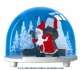 Traditional non-musical snow globe made of plastic without any 18 note musical mechanism - Item # for this non-musical snow globe made in Germany : 3675