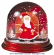Traditional non-musical snow globe made of plastic without any 18 note musical mechanism - Item # for this non-musical snow globe made in Germany : 390310