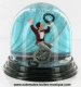 Traditional non-musical snow globe made of plastic without any 18 note musical mechanism - Item # for this non-musical snow globe made in Germany : 342062