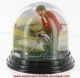 Traditional non-musical snow globe made of plastic without any 18 note musical mechanism - Item # for this non-musical snow globe made in Germany : 342051