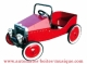 Mechanical pedal car for decoration only - Item# for this mechanical pedal car : 1938