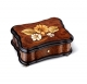 Reuge music box made of wood with traditional swiss 36 note musical mechanism - Item # for this Reuge music box : AXA.36.2488.001