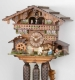 Hekas Black Forest Cuckoo Clock made of linden wood and entirely hand sculpted and painted - Item # for this Hekas Black Forest cuckoo clock: 3623/8 EX