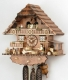 Hekas Black Forest Cuckoo Clock made of linden wood and entirely hand sculpted and painted - Item # for this Hekas Black Forest cuckoo clock: 3624/8 EX