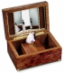 Reuge musical jewelry box with dancing dolls and with traditional 22 note musical mechanism - Item# for this Reuge musical jewelry box with dancing dolls : RXA.22.2322.002