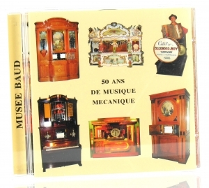 Audio CD of mechanical music instruments : audio CD of music boxes, organs and other mechanical music instruments - Item # of this audio CD of mechanical music instruments : CD-15