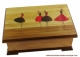Lutèce Créations musical jewelry box with dancing ballerina.