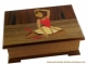 Lutèce Créations musical jewelry box with dancing ballerina - Item # for this Lutèce Créations musical jewelry box: BA.18.K.00.BELLE