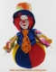 Musical clown automaton with traditional 18 note spring musical mechanism - Item# for this musical automaton : 20268