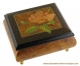 Musical ring box with traditional 18 note musical mechanism - Item # for this traditional musical ring box : 8550