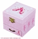 Trousselier musical jewelry box made of wood with dancing ballerina and traditional 18 note musical mechanism - Item # for this Trousselier musical jewelry box : 20-975