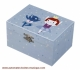 """Ninon and Nioui"" Trousselier musical jewelry box with traditional 18 note musical mechanism - Item # for this Trousselier musical jewelry box : 50-934"