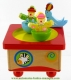 Animated music box : music box with clowns.