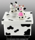 Animated music box : music box with cows.