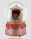 Musical snow globe with a baby girl.