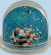 Trousselier non-musical snow globe : snow globe with Elmer the Elephant.