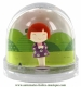 Trousselier not musical snow globe : snow globe with Ninon.