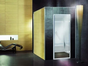 cabine hammam prefabrique en acrylique. Black Bedroom Furniture Sets. Home Design Ideas
