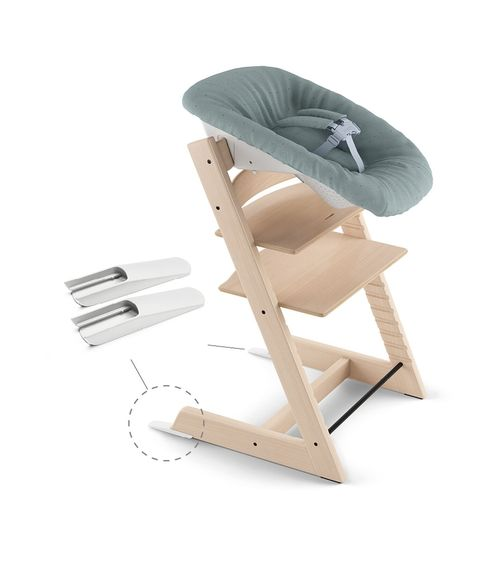 NEW BORN SET / CHAISE 'TRIPP TRAPP' GRIS