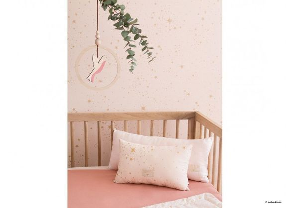 WALLPAPER NOBODINOZ 130GSM 52X1005 GOLD STELLA/DREAM PINK