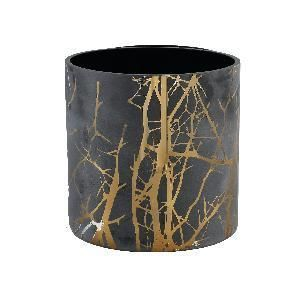 PHOTOPHORE VIRGULE BLACK TWIGS TAILLE L