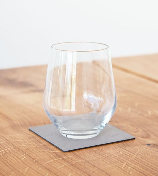 GLASS MAT SQUARE 10X10CM NUPO METALLIC
