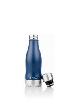BOUTEILLE MAT NAVY 280ML 'GLACIAL'