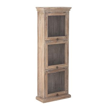 ARMOIRE/CABINET NATURE - BOIS RECYCLE