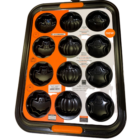 MOULE A 12 MUFFINS HALLOWEEN