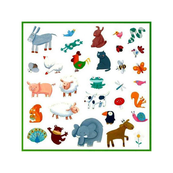 Stickers animaux