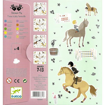 Stickers 'chevaux'