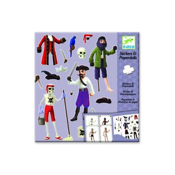 Stickers paperdolls : pirates