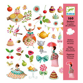 Stickers le gouter des Princesses