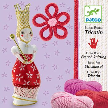 Tricotin Elodie rouge