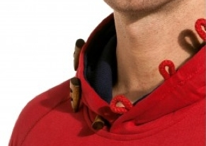 Sweat Capuche homme rouge Ytwo