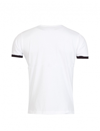 T-shirt homme animal blanc 166