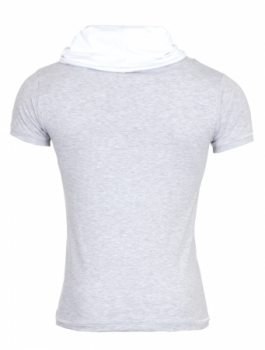 t-shirt homme fashion  gris 1257