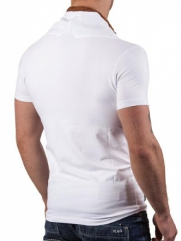 T-shirt homme fashion blanc ca4039