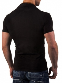 T-shirt homme fashion noir ca4039