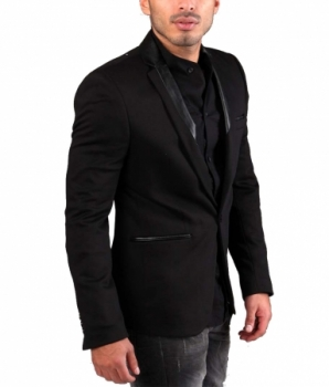 veste blazer homme coudi re 412. Black Bedroom Furniture Sets. Home Design Ideas