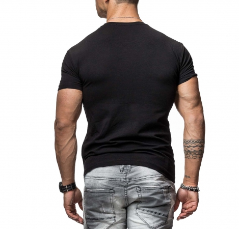 T-shirt homme flight noir 190