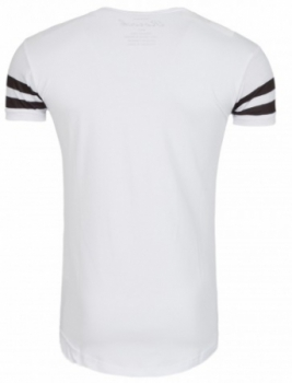 t-shirt homme fashion blanc 1189