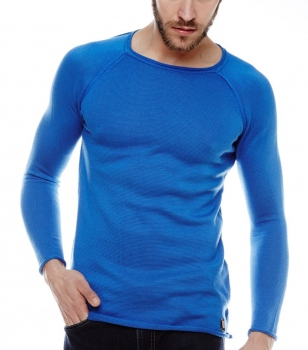 Pull homme bleu royale TEMPO 770