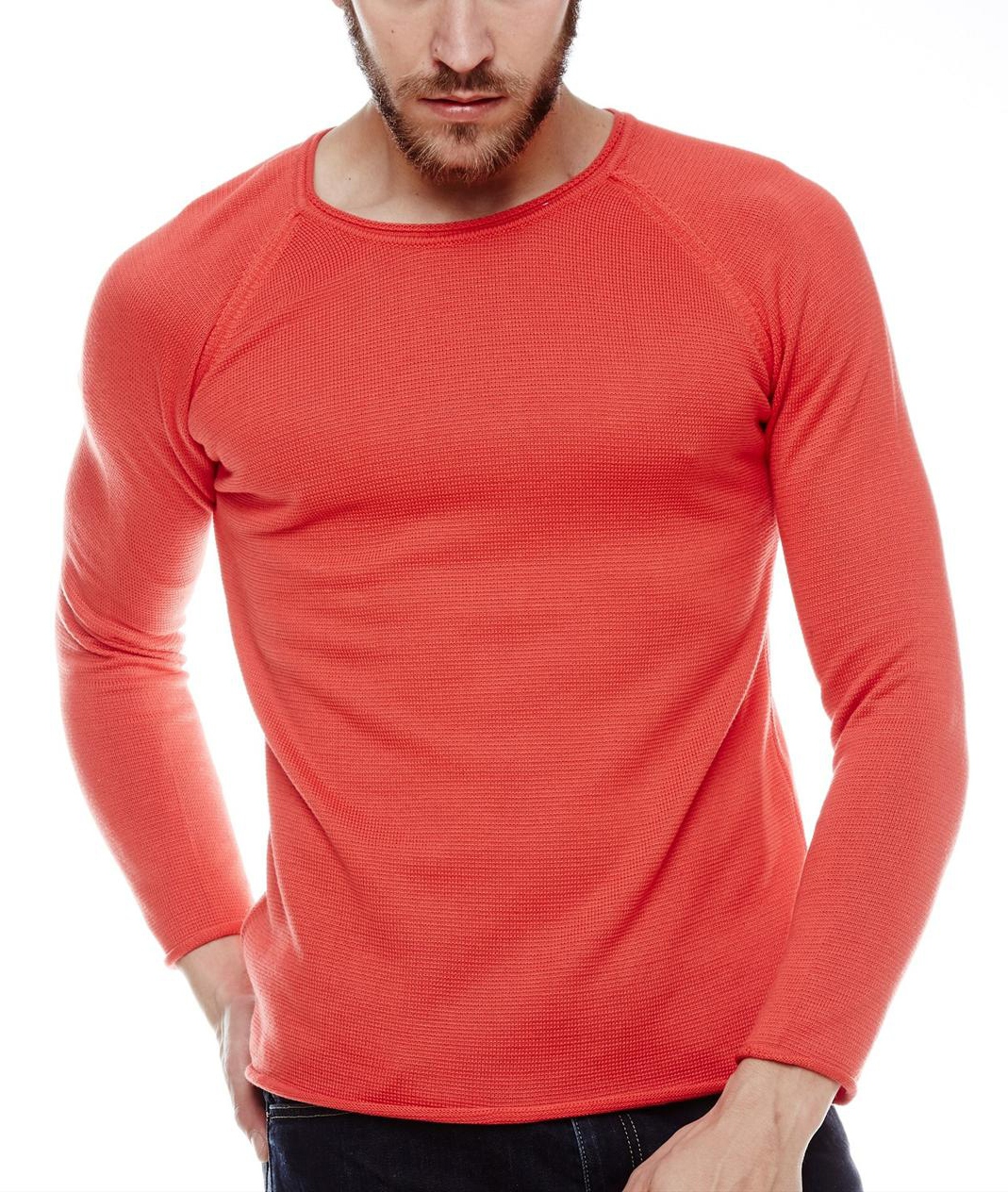 Pull Pastel 770 Rouge Homme Tempo zpMUVSqG
